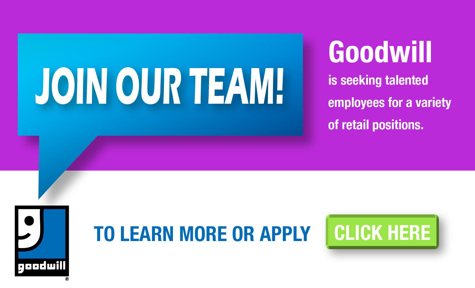 Join our team Goodwill is hiring-01