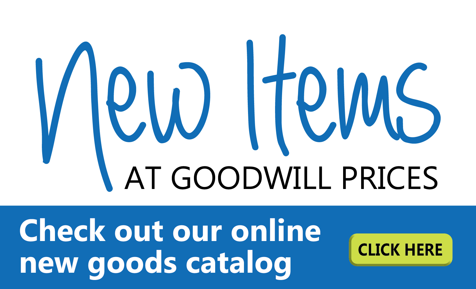 New Goods Catalog Goodwill Of Central Il
