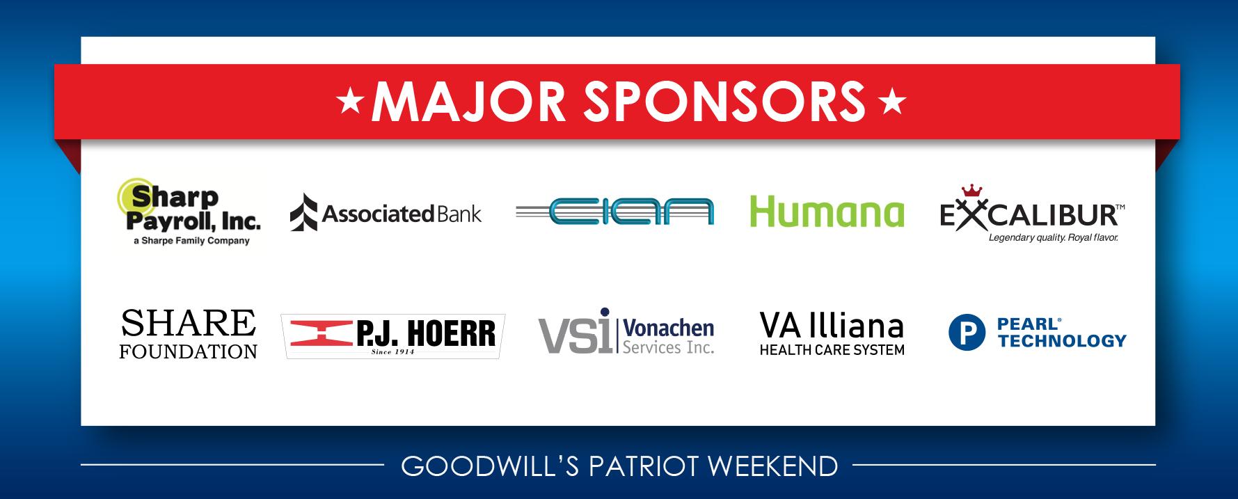 Major Sponsors 2