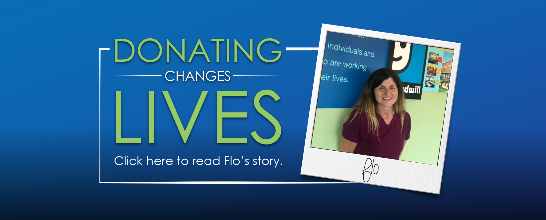 Success Through Support: Flo's Story