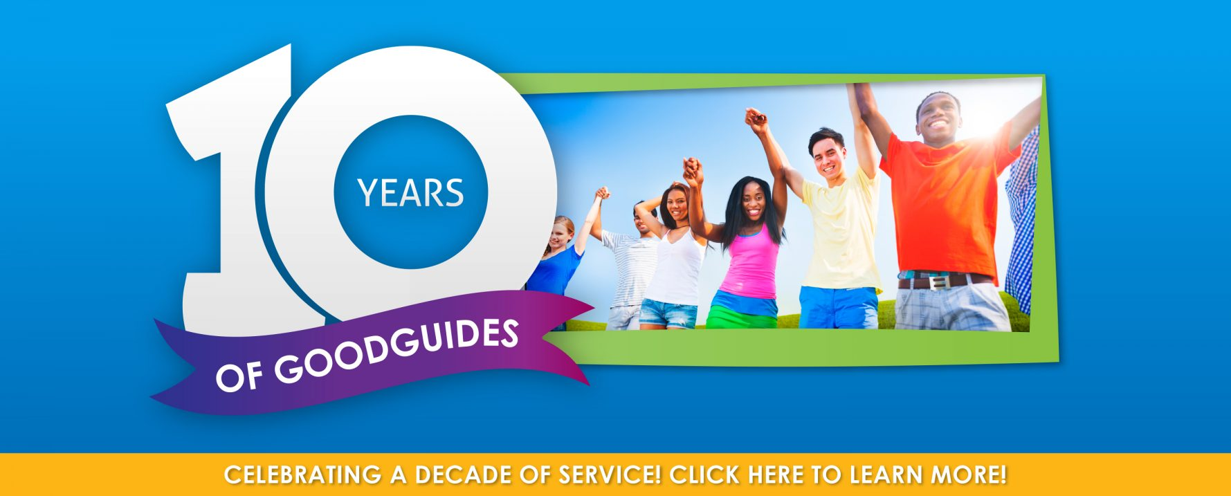 GoodGuides Celebrates a Decade of Service
