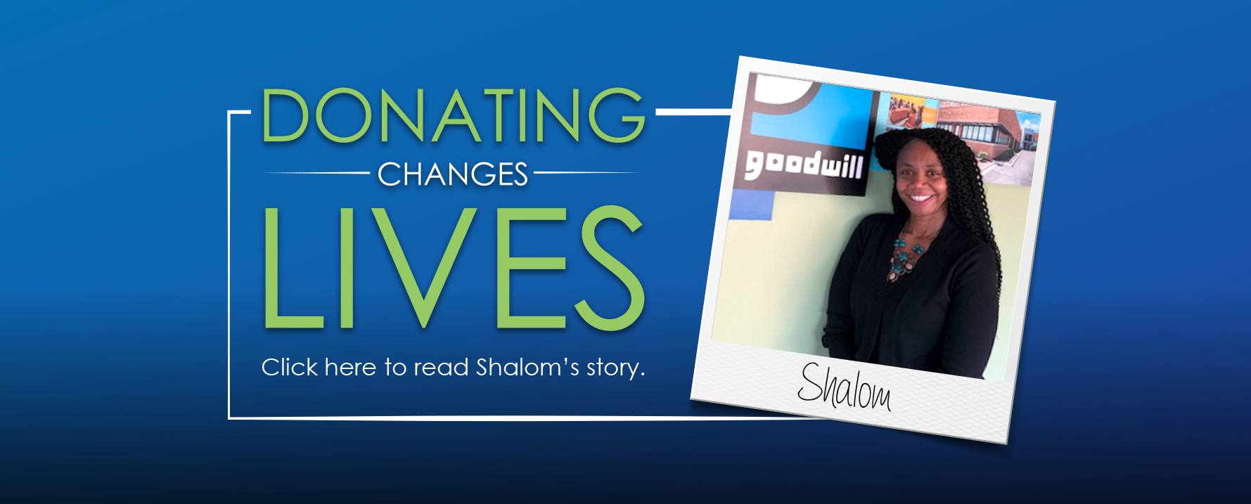 Success Through Support – Shalom's Story