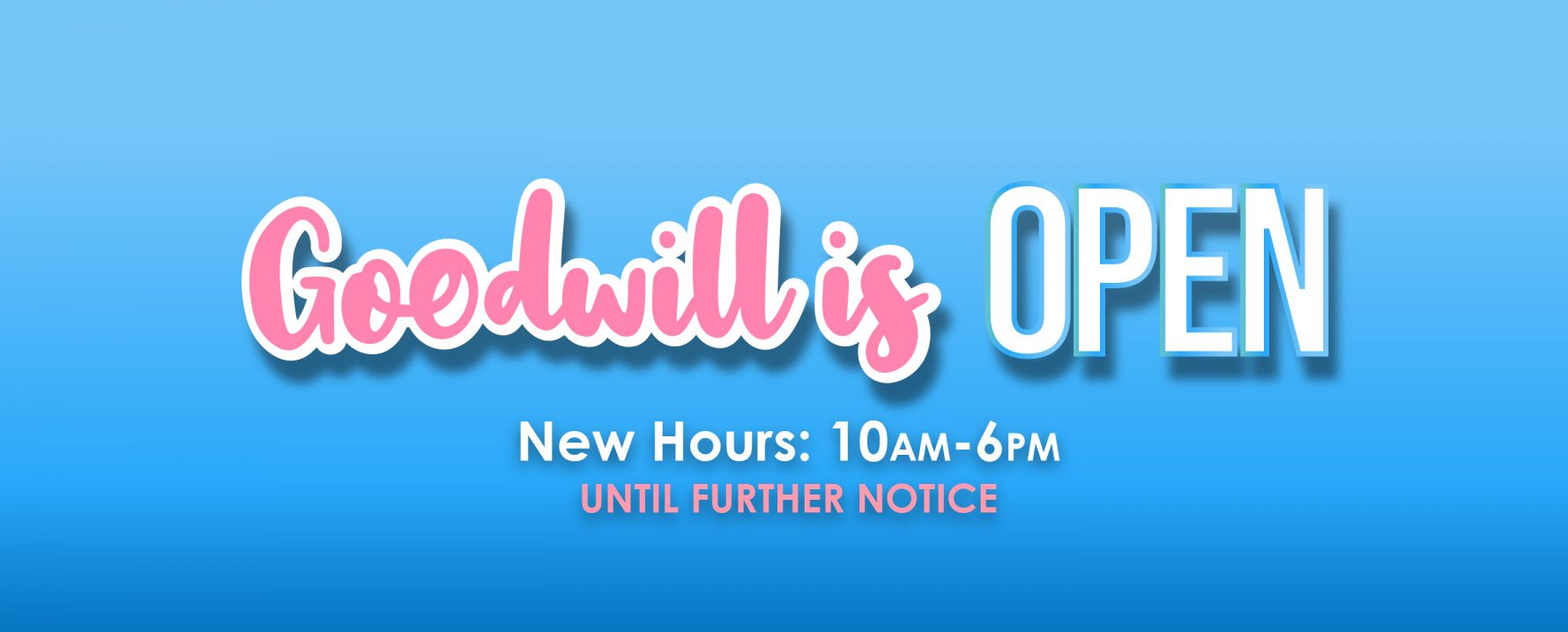 Goodwill of Central Illinois Stores Are Open