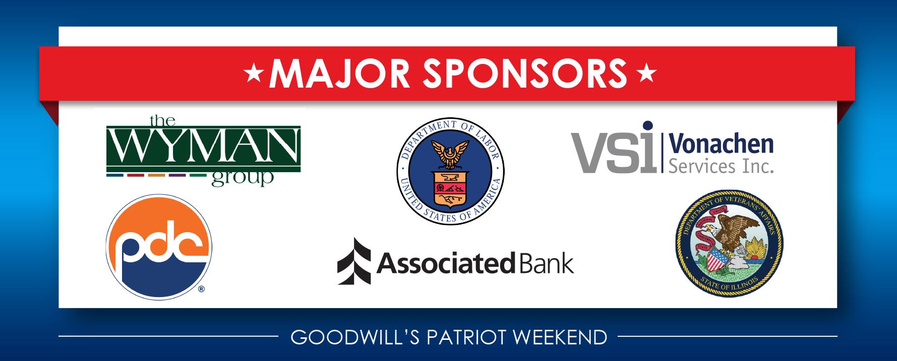 Major Sponsors 2 – 2020