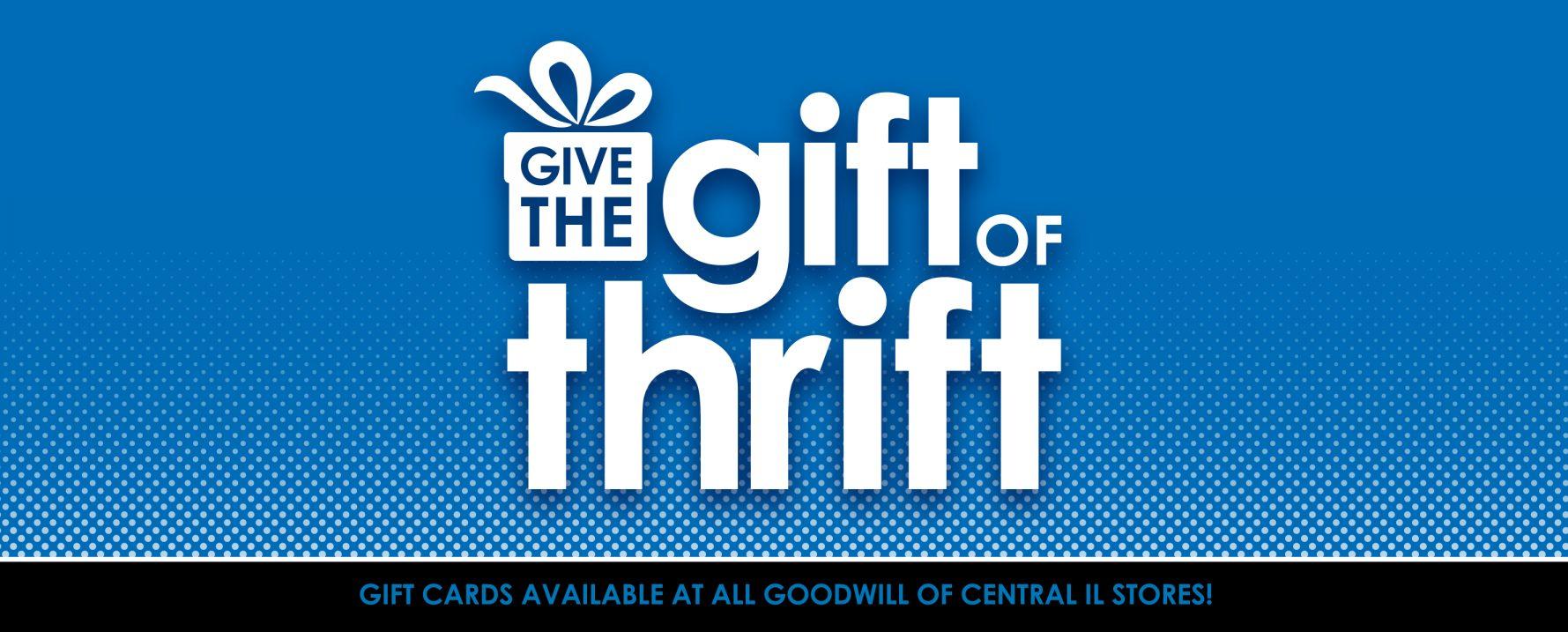 Gift of Thrift